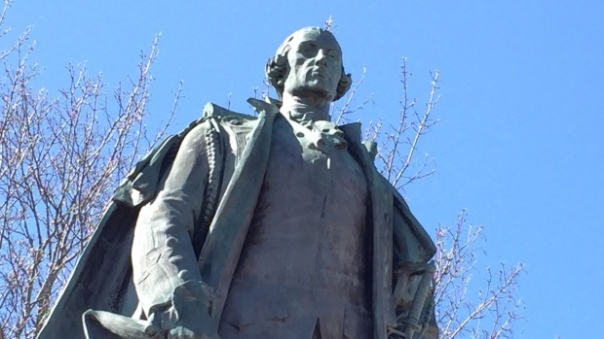 cornwallis statue 1