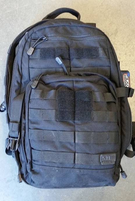 RCMP MIA bag 1