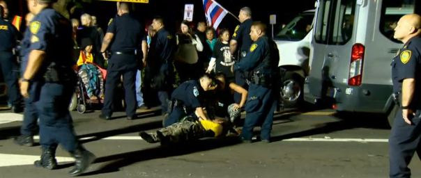 Hawaii telescope protest arrests