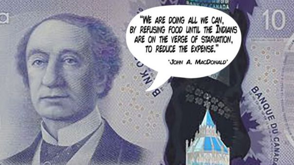 John A MacDonald money quote 1