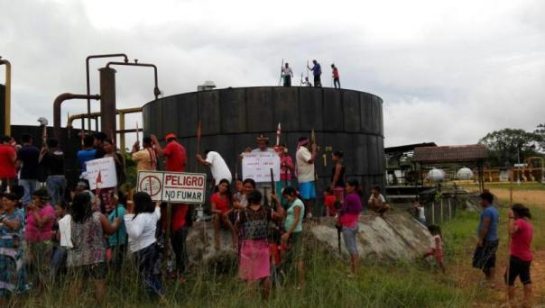 Peru oil occupation 2017