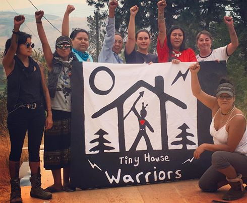 Secwepemc tiny house warriors 1