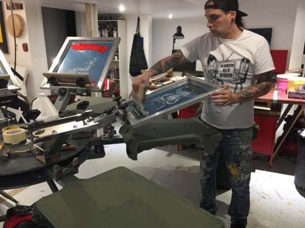 chippewar silkscreening