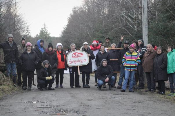 Haida old masset blockade 1