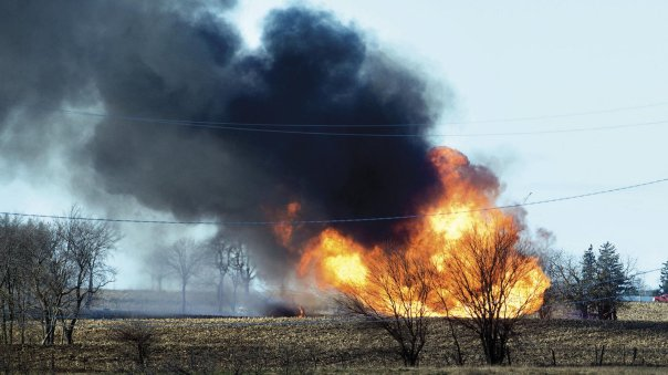 Kinder Morgan pipeline explosion illinois