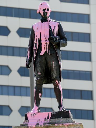 Australia statue vandalism 2018 1