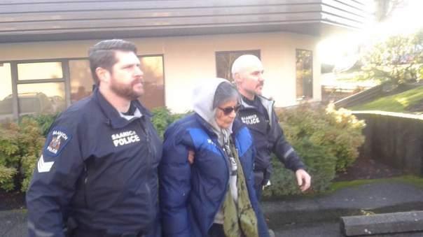 Dawna arrest