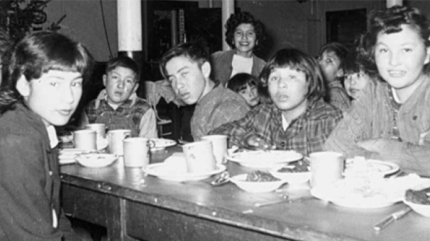 residential-school meal