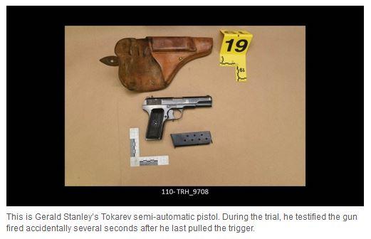Colten Boushie pistol
