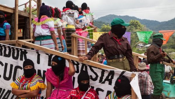 Zapatista women gathering 1