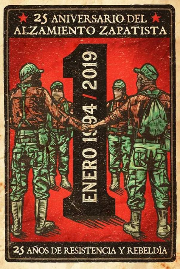 Zapatista 25 year graphic