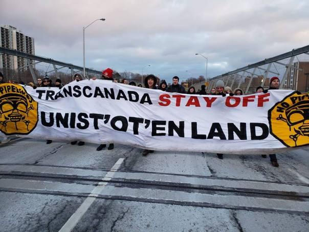unistote 2019 solidarity toronto banner