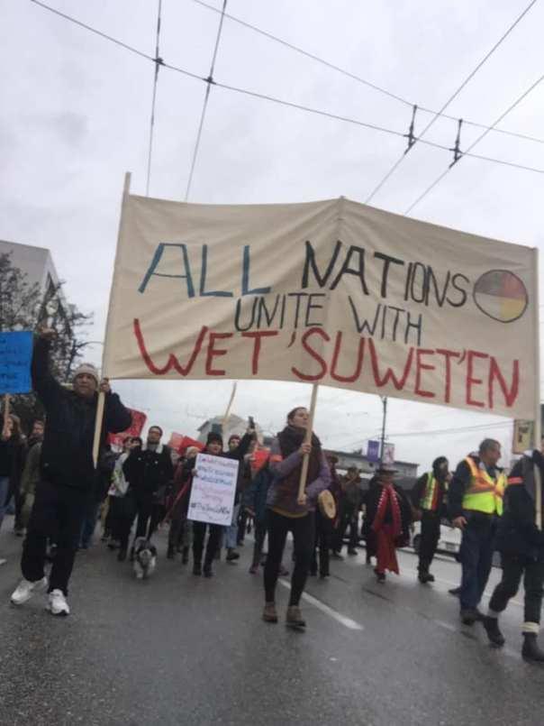 unistoten 2019 solidarity vancouver 2